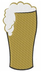 Tall Beer embroidery design