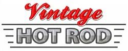 Vintage Hot Rod embroidery design