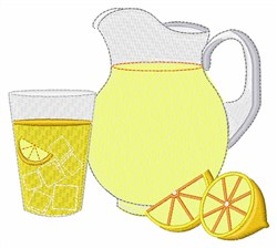 Served Lemonade embroidery design