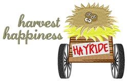 Harvest Happiness embroidery design
