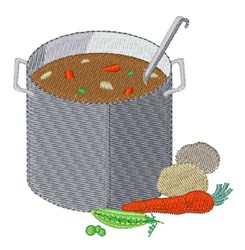 Pot Of Soup embroidery design