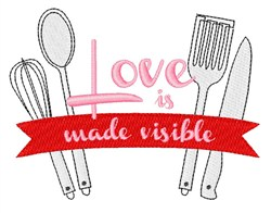 Love Made Visible embroidery design
