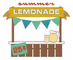 Summer Lemonade embroidery design