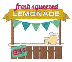 Fresh Lemonade embroidery design