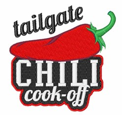 Tailgate Cook-Off embroidery design