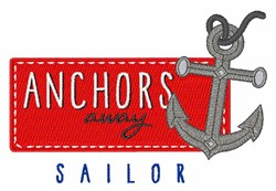 Sailor embroidery design