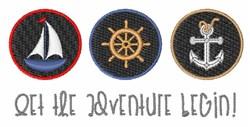 The Adventure embroidery design
