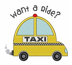 Hitch A Ride embroidery design