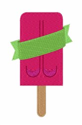 Ice Cream Candy embroidery design