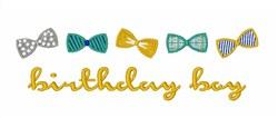 Birthday Boy embroidery design