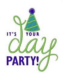 Its Your Birthday Party! embroidery design