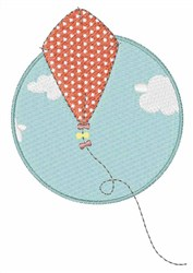 Kite In Sky embroidery design