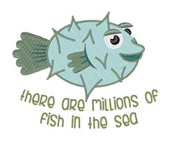Not Enough Fish? embroidery design