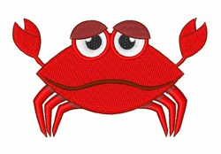 Crabby But Cute embroidery design