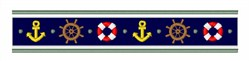 Nautical Border embroidery design