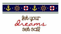 Set Sail Border embroidery design