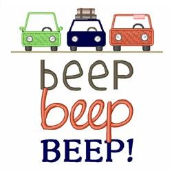 Beep Beep Beep! embroidery design
