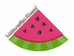 Watermelon Kisses! embroidery design