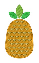 Fresh & Fruity Pineapple embroidery design
