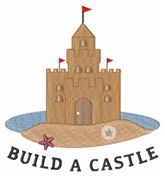 Build A Castle embroidery design