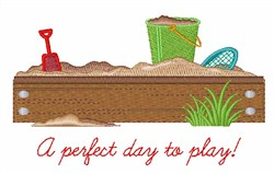 Day To Play embroidery design