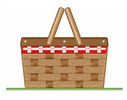 Picnic Basket embroidery design
