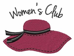 Womens Club embroidery design