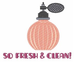 Fresh & Clean embroidery design