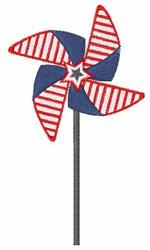 Patriotic Pinwheel embroidery design