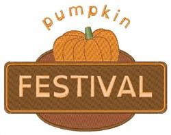 Pumpkin Festival embroidery design
