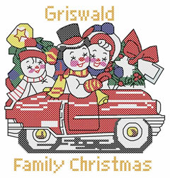 Griswald Family embroidery design