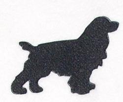 Spaniel embroidery design