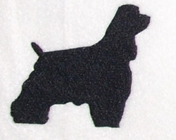 Spaniel embroidery design