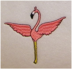 Spreading Wings embroidery design