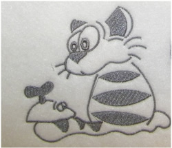 Cat And Mouse embroidery design