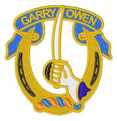 US 7th Cavalry Insignia embroidery design