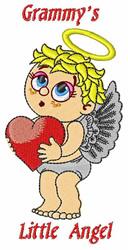 Grammys Little Angel embroidery design