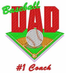 #1 Coach embroidery design