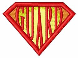 Super Guard embroidery design