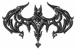Bat Tattoo embroidery design
