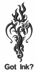 Got Ink embroidery design