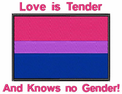 Love Is Tender embroidery design