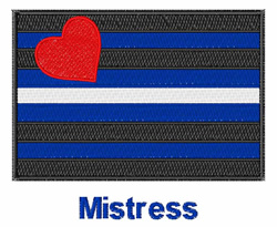 Mistress embroidery design