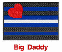 Big Daddy embroidery design