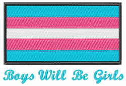 Will Be Girls embroidery design