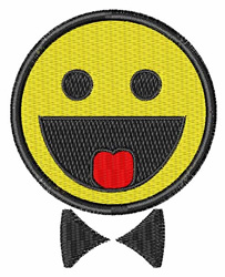 Happy Face Groom embroidery design