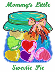Sweetie Pie embroidery design