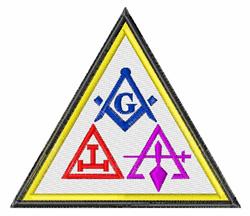 Masonic Symbols embroidery design