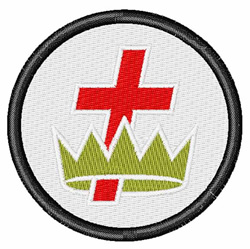 Knights Templar embroidery design