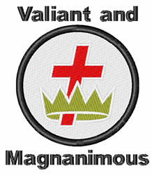 Valiant embroidery design
